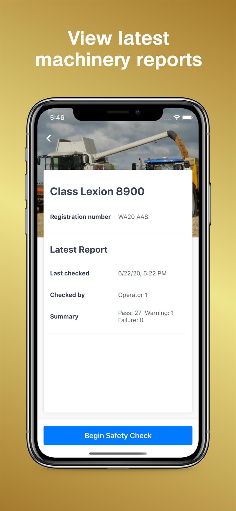 Merit AgCheck App Screenshot - Latest Reports